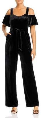Calvin Klein Cold-Shoulder Jumpsuit