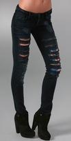 Skinny Flag Jeans