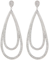 Nadri Crystal Teardrop Earrings