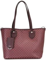Bally patterned shopper tote