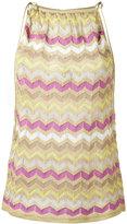 M Missoni crochet-knit tank top - women - Cotton/Metallic Fibre/Polyimide - 38