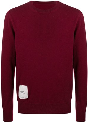 Maison Margiela Logo Patch Cashmere Jumper