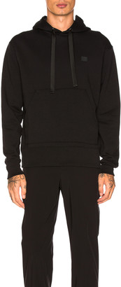 Acne Studios Ferris Face Hoodie in Black | FWRD