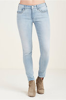 True Religion Halle Super Skinny Eyelet Womens Jean