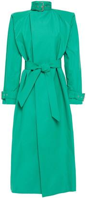 Balenciaga Oversized Cotton-blend Gabardine Trench Coat