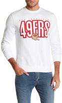 Mitchell & Ness NFL 49ers Fleece Crew Neck Sweater