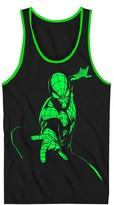 Spiderman Boys' Tank Top - Black/Neon Green