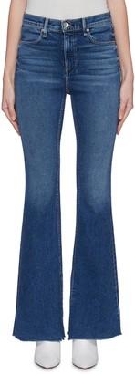 Rag & Bone 'Bella' split cuff flared jeans