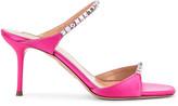 Aquazzura Diamante 75 Sandal in Exotic Pink   FWRD