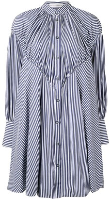 Palmer Harding Mandarin Collar Shirt Dress