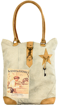 Vintage Addiction Tan 'Be Kind To Animals' Canvas Tote