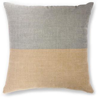 Bole Road Textiles Karo 20x20 Pillow - Sable