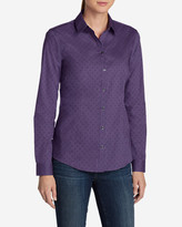 Eddie Bauer Women's Wrinkle-Free Long-Sleeve Shirt - Print