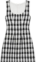 Maje Rocky Tweed Mini Dress