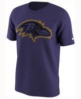 Nike Men's Baltimore Ravens Color Rush Travel T-Shirt
