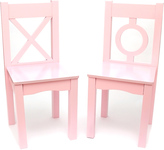 Lipper Light Pink Kids Chair - Set of Two