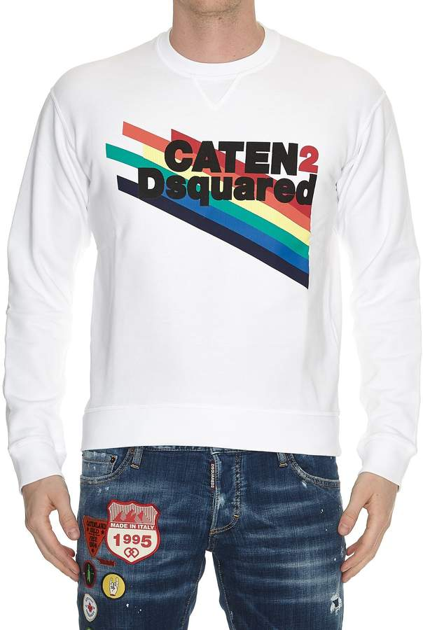 DSQUARED2 Caten Printed Sweater