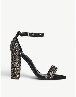 Steve Madden Carrson faux-leather heeled sandals