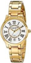 Akribos XXIV Women's AK570YG Lady Diamond-Accented Stainless Steel Watch