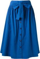 Woolrich pleated full skirt - women - Cotton - S