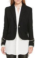Polo Ralph Lauren Wool Peplum Blazer