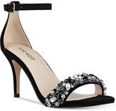 Nine West Innocent Embellished Evening Sandals Women's Shoes