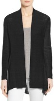 Eileen Fisher Women's Shaped Organic Linen Blend Cardigan