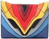 Elena Ghisellini Felina Rainbow Leather Shoulder Bag