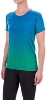 Brooks Streaker Running T-Shirt - Fitted, Short Sleeve (For Women)