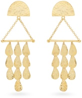 Sophia Kokosalaki Triangle Perseids gold-plated earrings