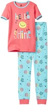 Petit Lem Hello Sunshine Pajama - 2-Piece Set (Little Girls & Big Girls)