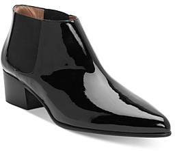 Laurence Dacade Women's Patent Leather Ankle Booties