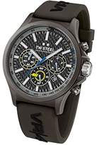 TW Steel Unisex TW936 VR46 Analog Display Quartz Black Watch