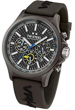TW Steel Unisex TW936 VR46 Analog Display Quartz Watch