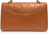 Tory Burch Alexa Aged Vachetta Leather Shoulder Bag
