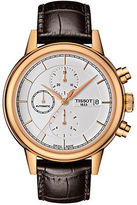 Tissot Mens Carson Automatic Chronograph Rose Goldtone Watch