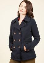 Time-Honored Tendencies Coat in Noir in L