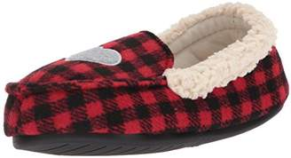 Dearfoams Girl's Holiday Moccasin
