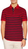 Nautica Short Sleeve Stripe Polo