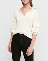 Express Cozy Chenille Hoodie