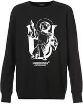 Undercover logo printed sweatshirt