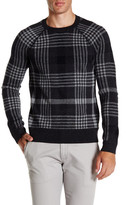 Vince Plaid Jacquard Sweater