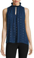 WORTHINGTON Worthington Ruffle Neck Tank Top