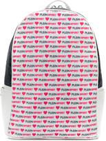 Plein Sport allover logo print backpack
