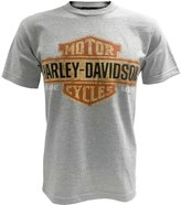 Harley-Davidson Men's Tee, Distressed Bar & Shield Short Sleeve 30296597 (2XL)
