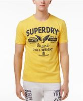 Superdry Men's Full Weight Graphic-Print Logo Cotton T-Shirt