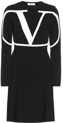 Valentino VLOGO jersey dress
