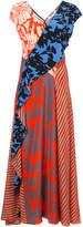 Diane von Furstenberg Draped floor-length dress