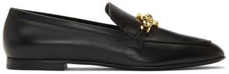 Versace Black Medusa Chain Loafer