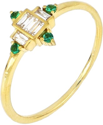 Bony Levy El Mar Emerald & Diamond Ring